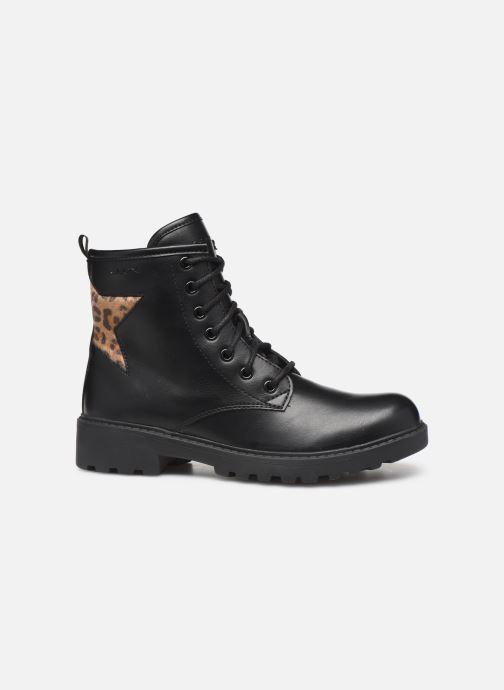 Boots en enkellaarsjes Geox J Casey Girl J9420G Zwart achterkant