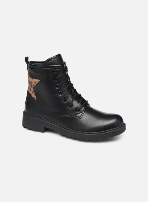 Boots en enkellaarsjes Geox J Casey Girl J9420G Zwart detail