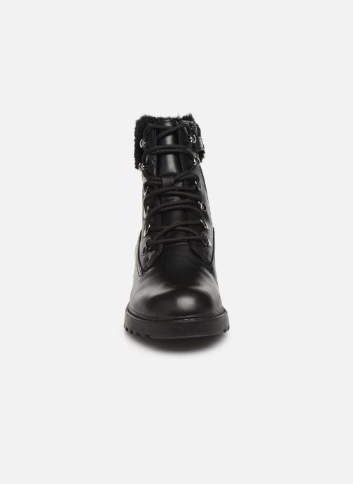 Bottines et boots Geox J Casey Girl WPF J94AFC Noir vue portées chaussures