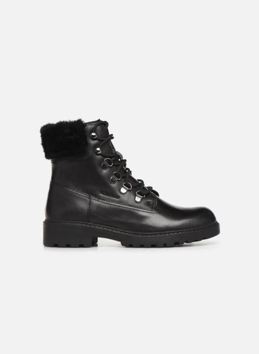 Boots en enkellaarsjes Geox J Casey Girl WPF J94AFC Zwart achterkant