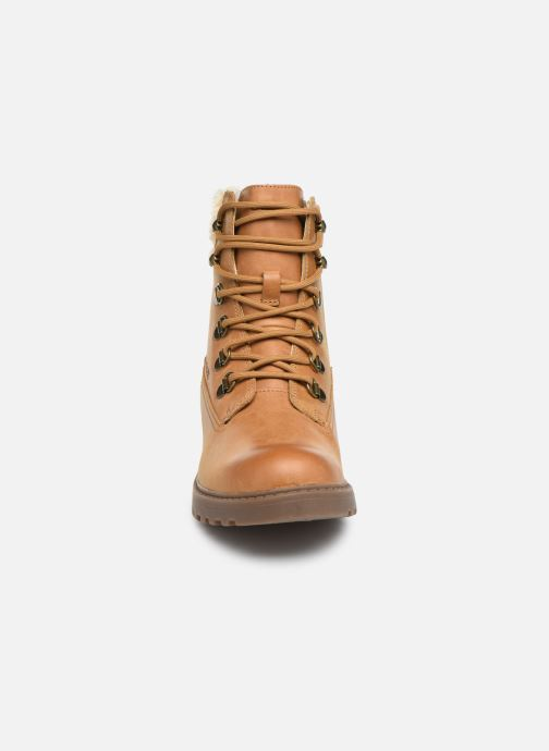 Ankle boots Geox J Casey Girl J9420H Brown model view