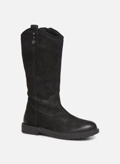Støvler & gummistøvler Geox J Eclair Girl J949QE Sort detaljeret billede af skoene