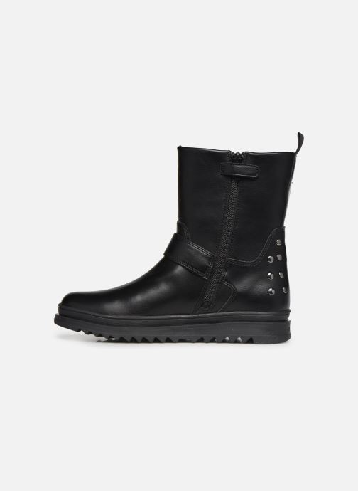 Bottes Geox J Gillyjaw Girl J947XB Noir vue face