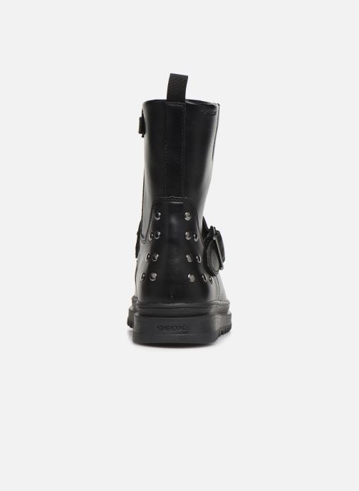 Bottes Geox J Gillyjaw Girl J947XB Noir vue droite