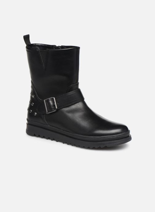 Støvler & gummistøvler Geox J Gillyjaw Girl J947XB Sort detaljeret billede af skoene