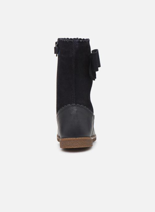Støvler & gummistøvler Geox J Shawntel Girl J944EA Blå Se fra højre