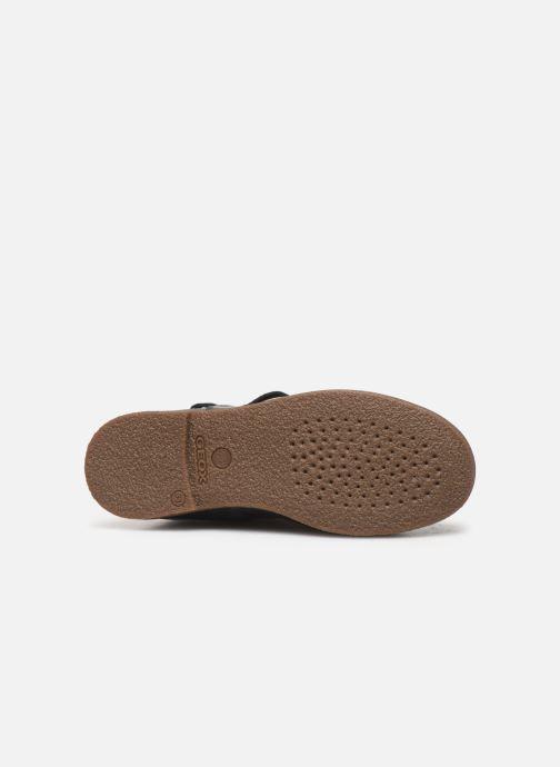 Støvler & gummistøvler Geox J Shawntel Girl J944EA Blå se foroven