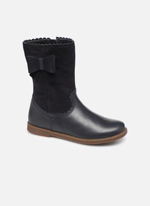 Støvler & gummistøvler Geox J Shawntel Girl J944EA Blå detaljeret billede af skoene