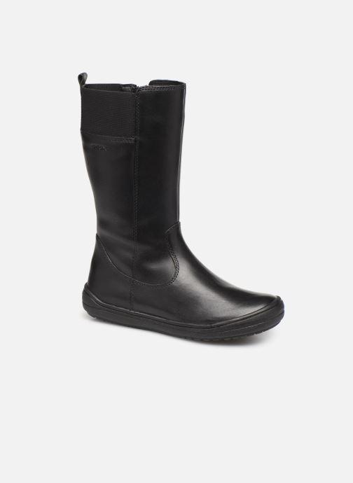 Støvler & gummistøvler Geox J Hadriel Girl J947VH Sort detaljeret billede af skoene