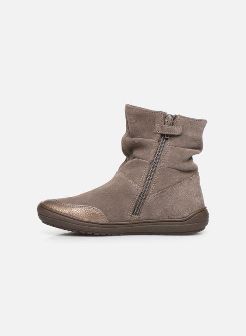 Boots en enkellaarsjes Geox J Hadriel Girl J947VD Grijs voorkant