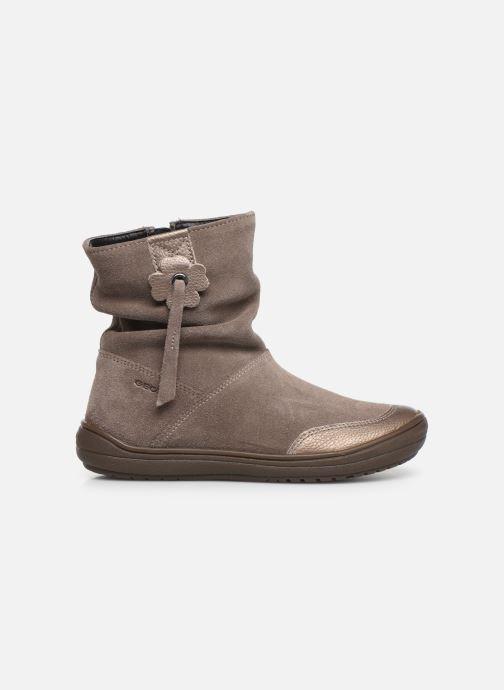 Boots en enkellaarsjes Geox J Hadriel Girl J947VD Grijs achterkant