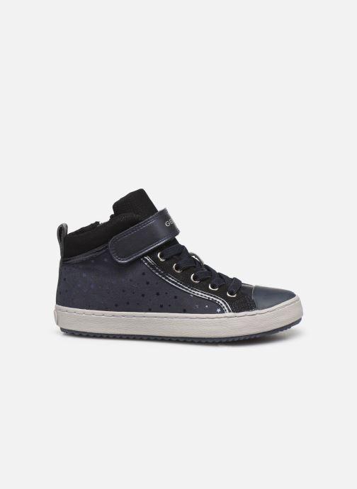 Sneaker Geox J Kalispera Girl J744GI blau ansicht von hinten