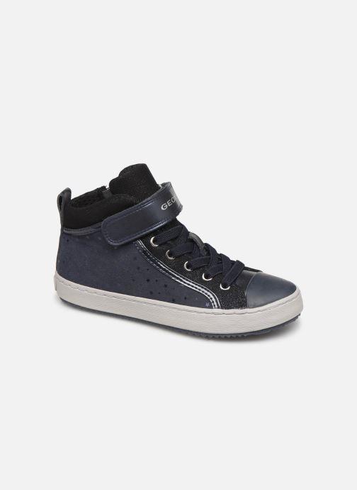 Sneaker Geox J Kalispera Girl J744GI blau detaillierte ansicht/modell