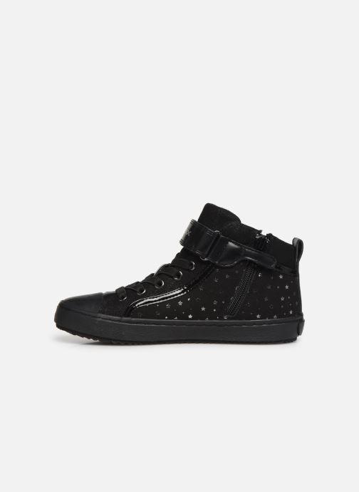 Sneakers Geox J Kalispera Girl J744GI Zwart voorkant