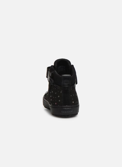 Sneakers Geox J Kalispera Girl J744GI Nero immagine destra