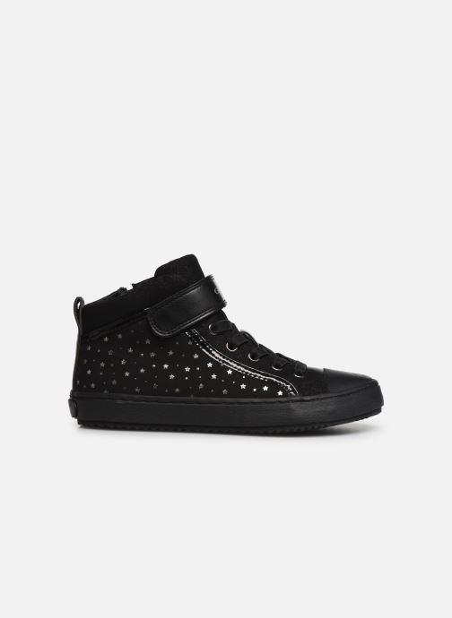 Sneakers Geox J Kalispera Girl J744GI Zwart achterkant