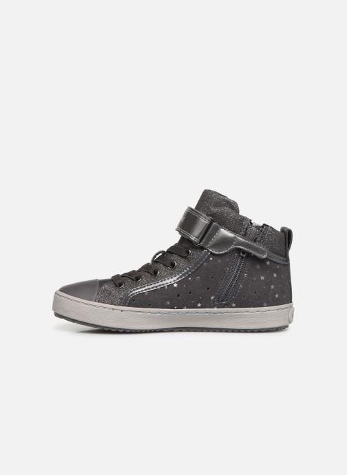 Sneakers Geox J Kalispera Girl J744GI Grijs voorkant