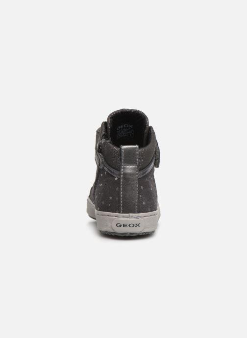 Sneakers Geox J Kalispera Girl J744GI Grijs rechts