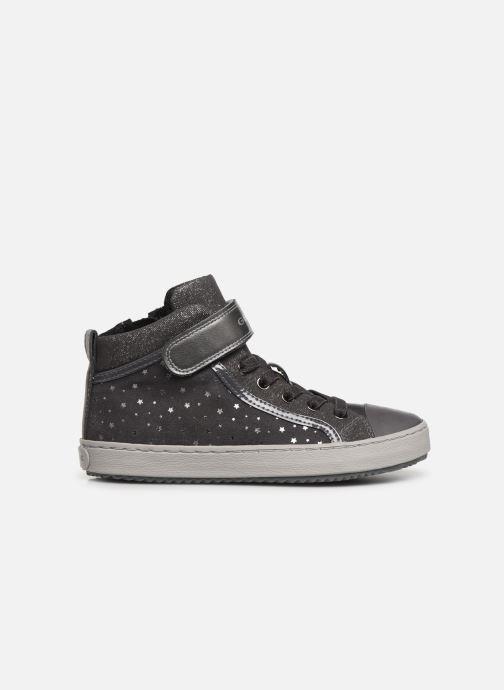 Sneaker Geox J Kalispera Girl J744GI grau ansicht von hinten