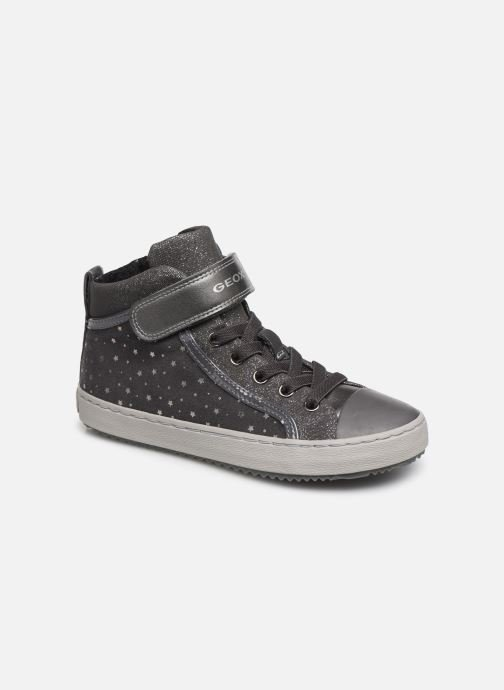Sneaker Geox J Kalispera Girl J744GI grau detaillierte ansicht/modell