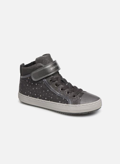 Sneakers Geox J Kalispera Girl J744GI Grijs detail