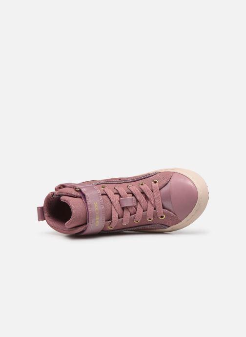 Sneaker Geox J Kalispera Girl J744GI rosa ansicht von links