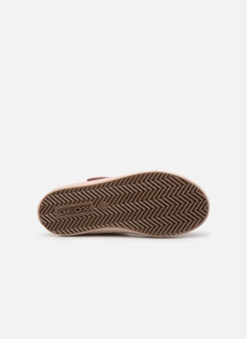 Sneakers Geox J Kalispera Girl J744GI Roze boven