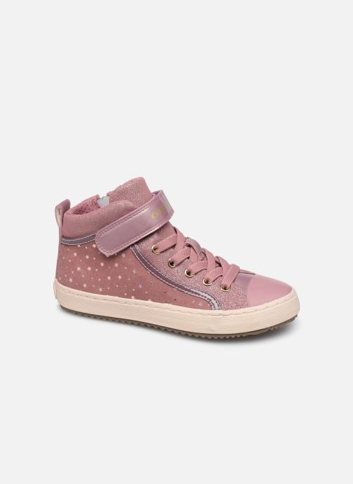 Baskets Geox J Kalispera Girl J744GI Rose vue détail/paire