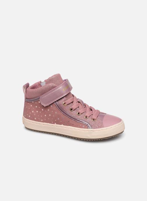 Sneakers Geox J Kalispera Girl J744GI Roze detail
