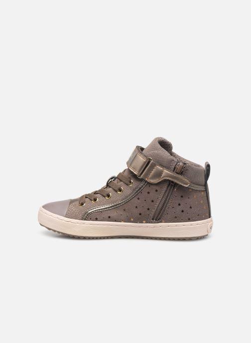 Sneakers Geox J Kalispera Girl J744GI Beige voorkant