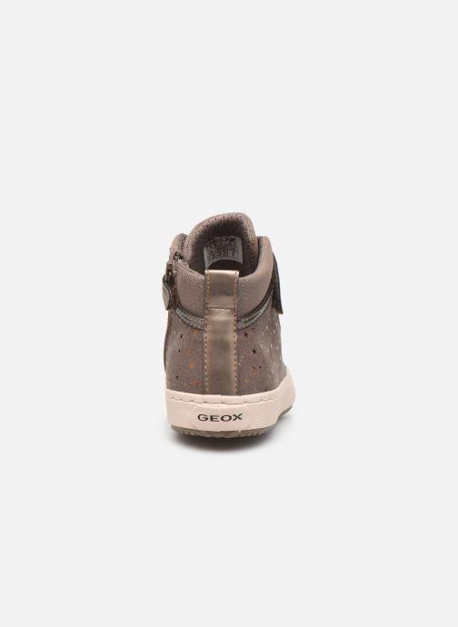 Sneakers Geox J Kalispera Girl J744GI Beige rechts