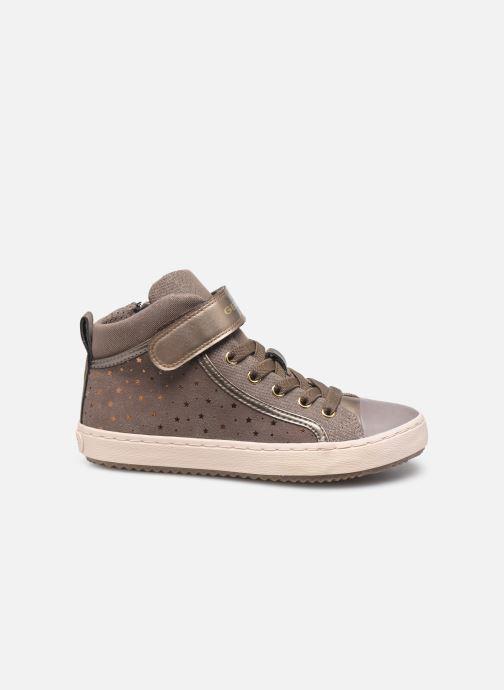 Sneakers Geox J Kalispera Girl J744GI Beige achterkant