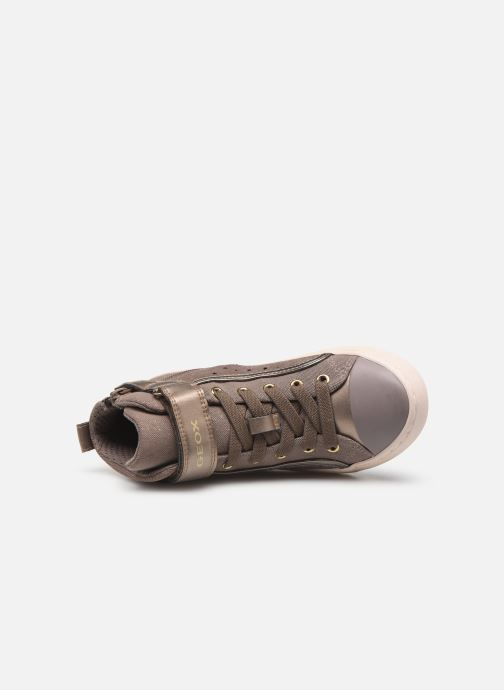 Sneakers Geox J Kalispera Girl J744GI Beige links