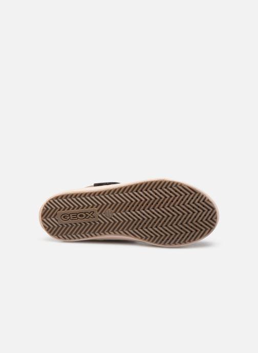 Sneakers Geox J Kalispera Girl J744GI Beige boven
