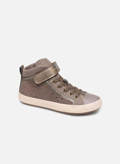 Sneakers Geox J Kalispera Girl J744GI Beige detail