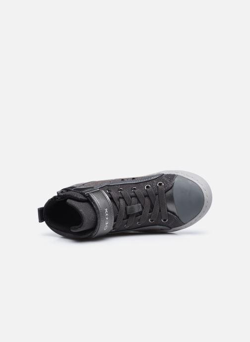 Sneaker Geox J Kalispera Girl J744GI grau ansicht von links