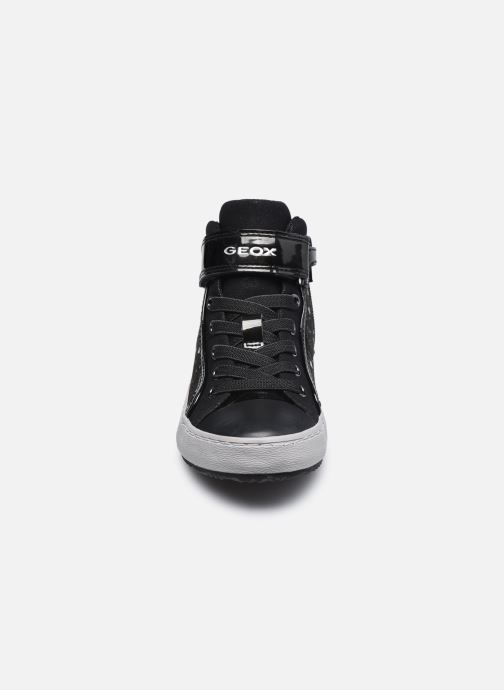 Sneakers Geox J Kalispera Girl J744GI Zwart model