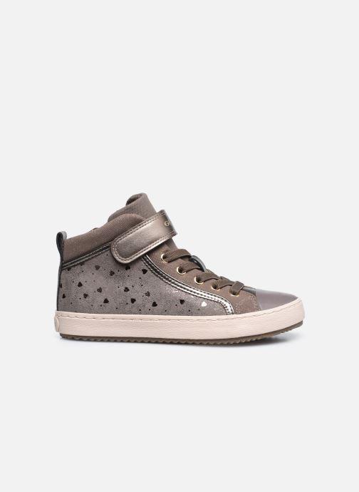 Sneaker Geox J Kalispera Girl J744GI braun ansicht von hinten