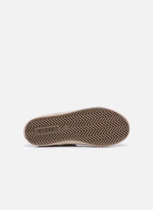 Sneaker Geox J Kalispera Girl J744GI braun ansicht von oben