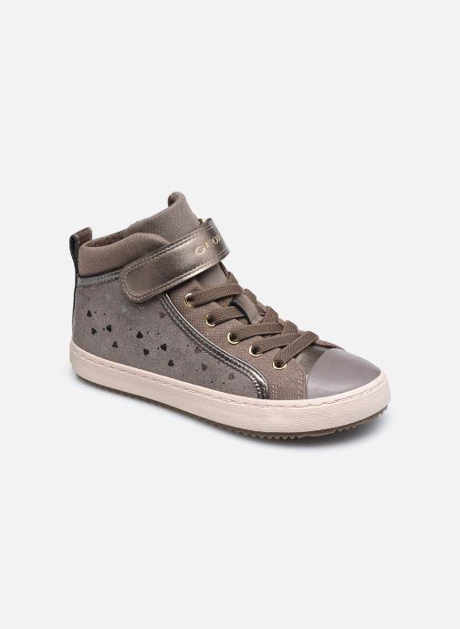 Sneaker Geox J Kalispera Girl J744GI braun detaillierte ansicht/modell
