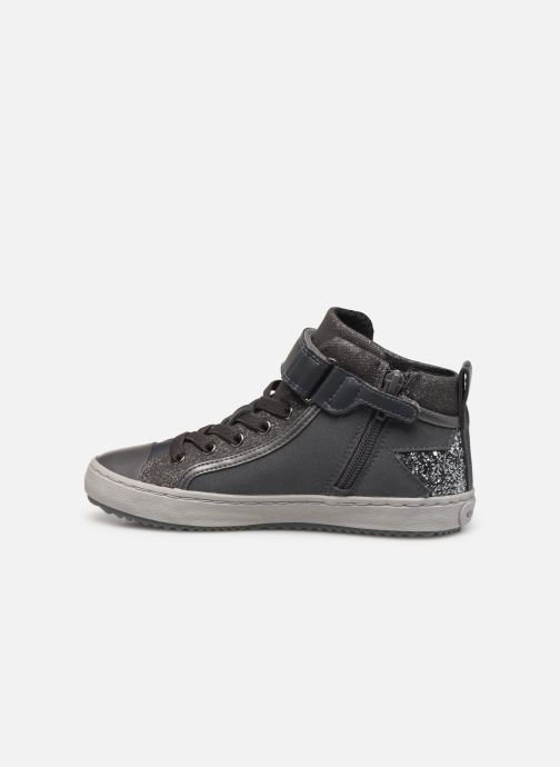 Baskets Geox J Kalispera Girl J944GM Gris vue face