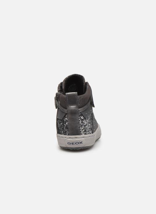 Sneakers Geox J Kalispera Girl J944GM Grigio immagine destra