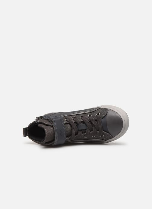 Sneakers Geox J Kalispera Girl J944GM Grigio immagine sinistra