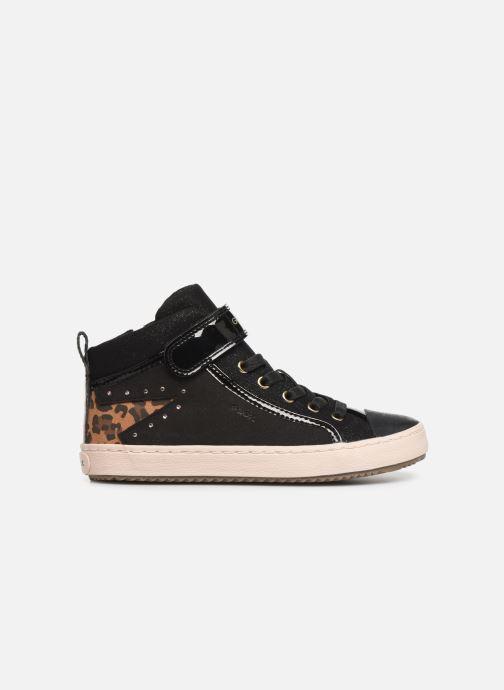 Sneaker Geox J Kalispera Girl J944GM schwarz ansicht von hinten