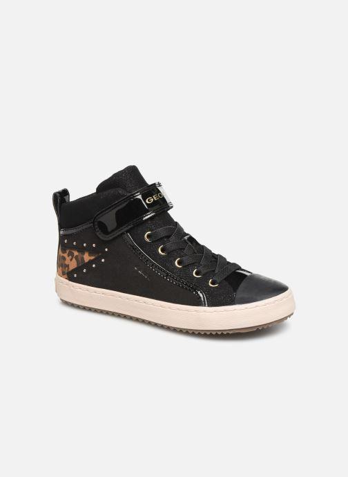 Sneakers Geox J Kalispera Girl J944GM Zwart detail