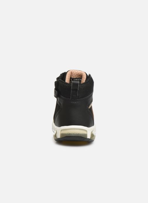 Sneakers Geox J INEK GIRL J94ASA Zwart rechts
