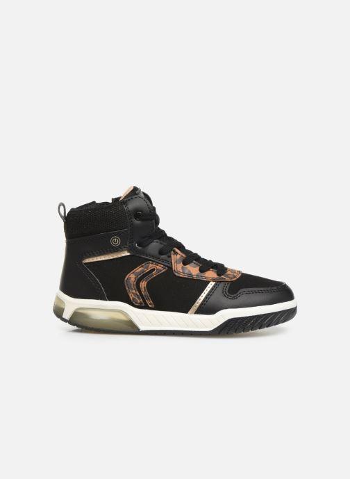 Sneakers Geox J INEK GIRL J94ASA Zwart achterkant