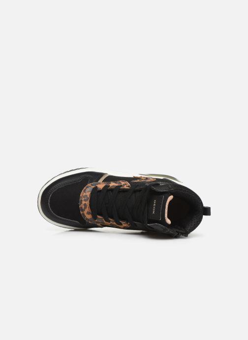 Sneakers Geox J INEK GIRL J94ASA Zwart links
