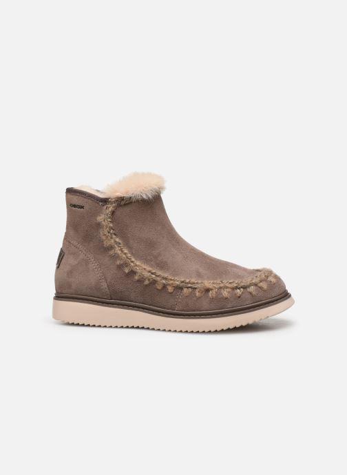 Boots en enkellaarsjes Geox J Thymar Girl J944FF Grijs achterkant