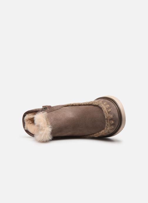 Boots en enkellaarsjes Geox J Thymar Girl J944FF Grijs links